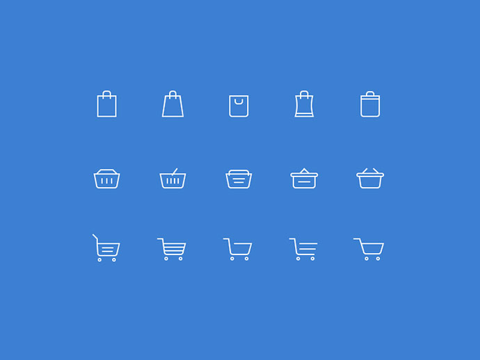 Free Shopping Cart Icons