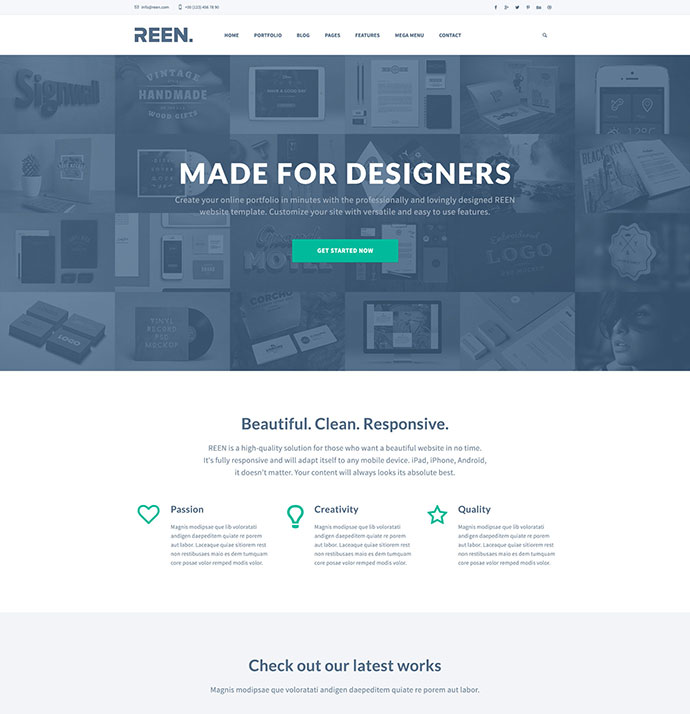 21 free psd website templates worth downloading web graphic