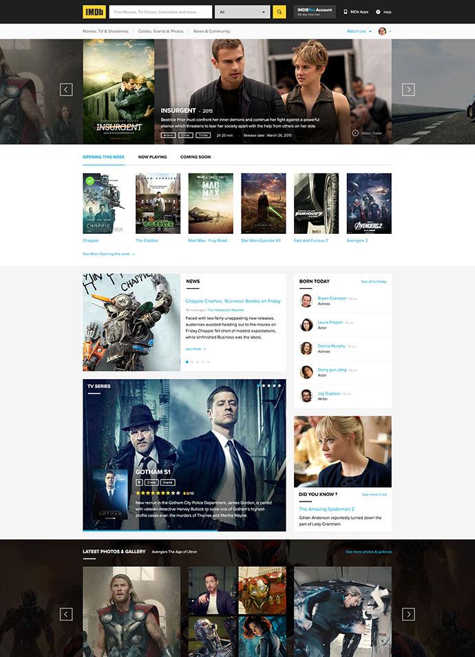 PSD IMDb Concept