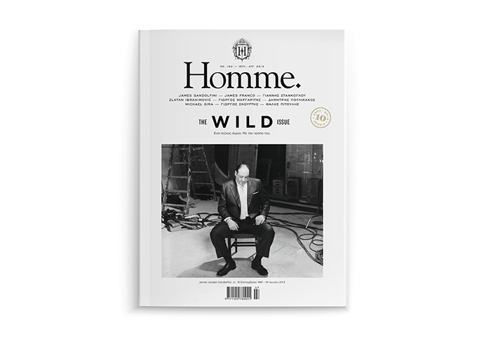 Design and Art Direction for Homme Magazine