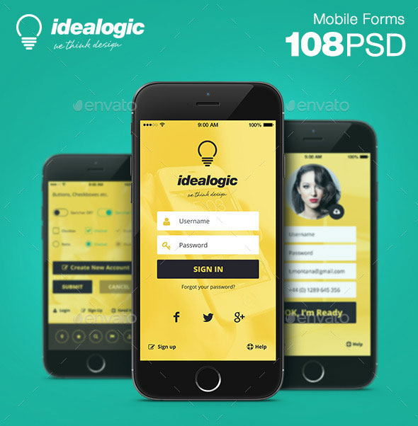 Idealogic - Mobile Forms