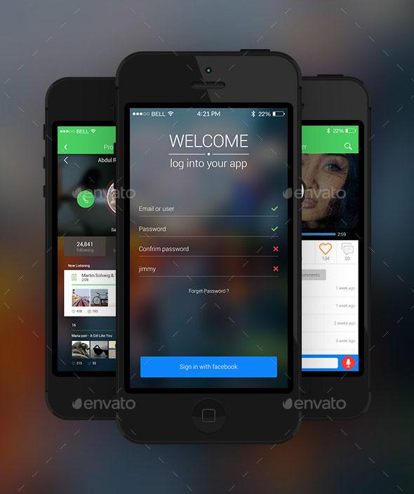 IOS 8 Mobile App Kit