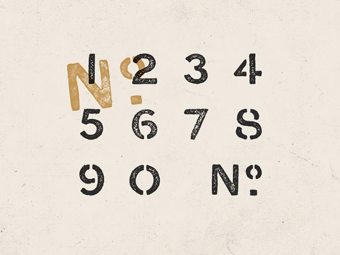 Stencil No.