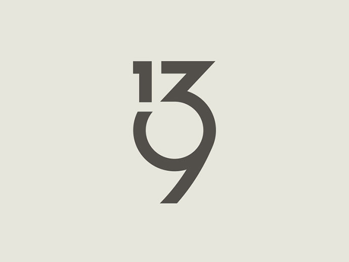 58 beautiful numerical typography designs web graphic design bashooka