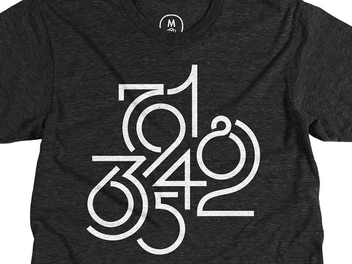 58 Beautiful Numerical Typography Designs Web Amp Graphic