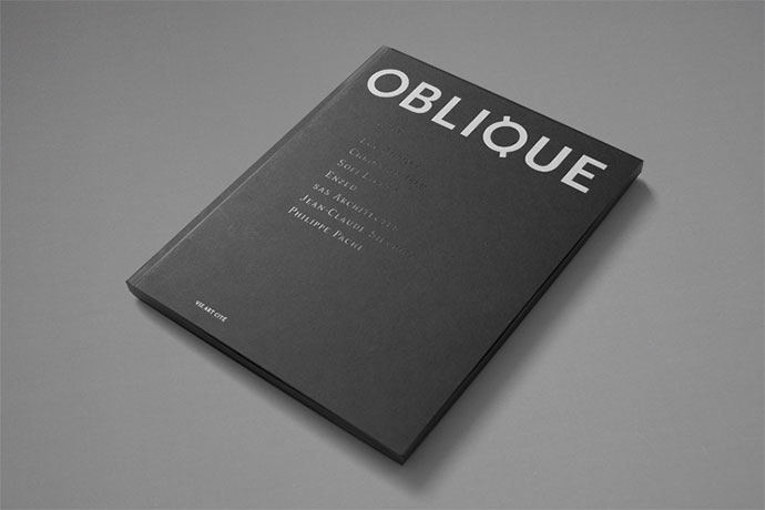 OBLIQUE is an editorial object between a magazine and a book.