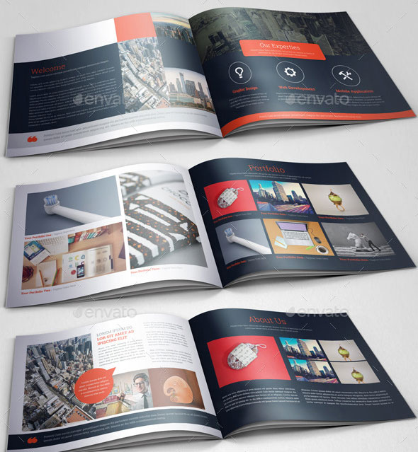 30 Eye-Catching PSD & InDesign Brochure Templates