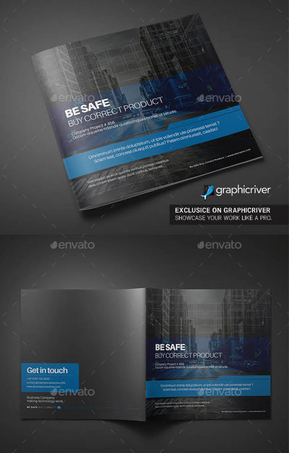 30 Eye-Catching PSD & InDesign Brochure Templates | Web & Graphic Design | Bashooka