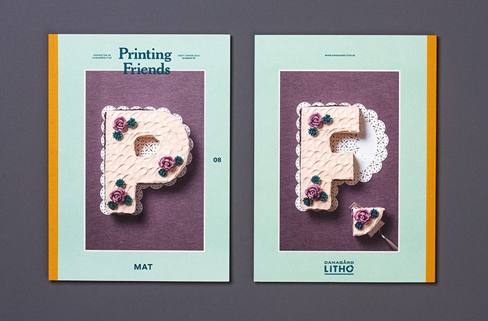 Printing Friends, the inspiring magazine for creatives