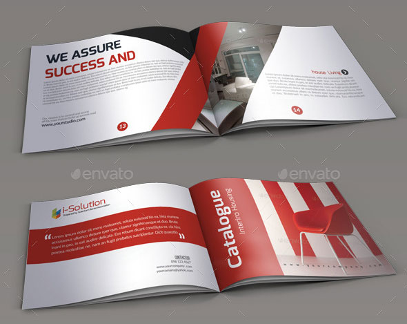 EyeCatching PSD InDesign Brochure Templates Web Graphic - Product brochure templates
