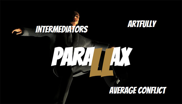 Parallax navigation concept engine.