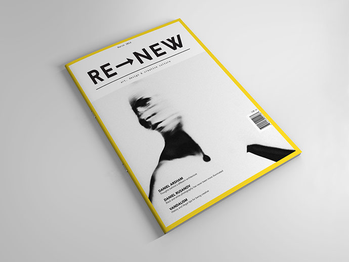 NKH project for editorial design