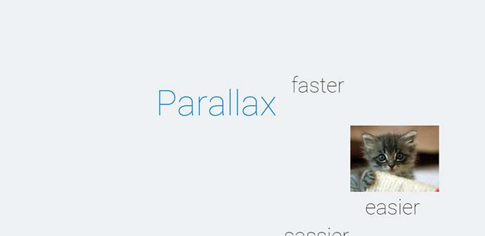 sass parallax example