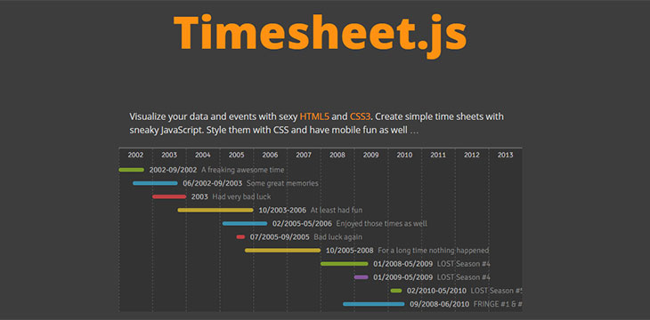 10 javascript timeline libraries