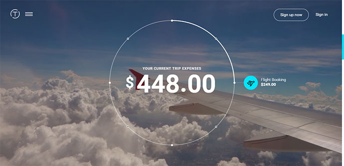 Beautifully simple business travel and expense management