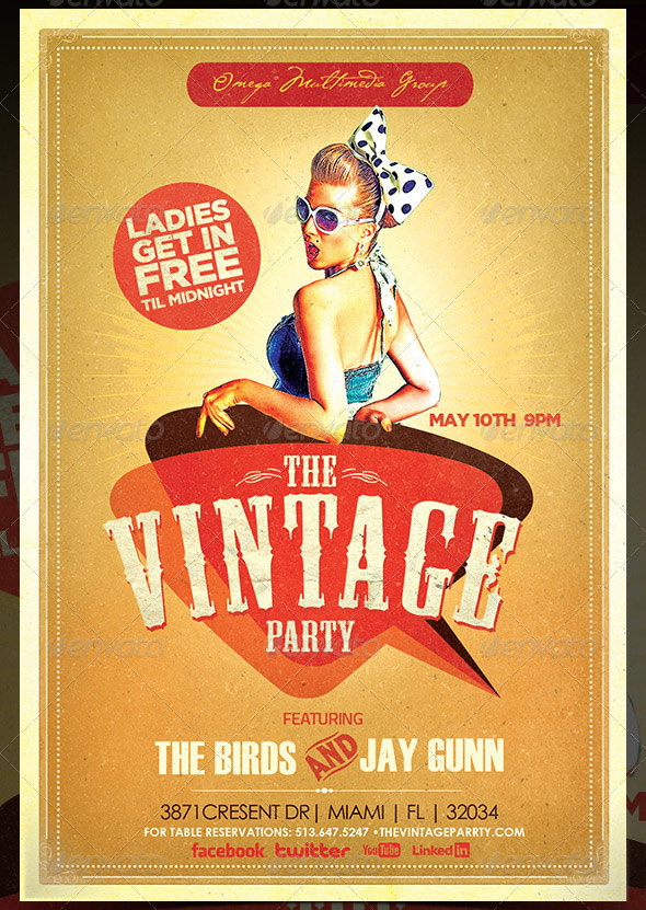 the vintage party