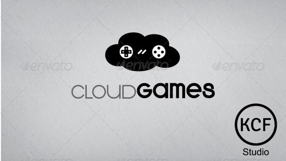 CloudGames Logo Design