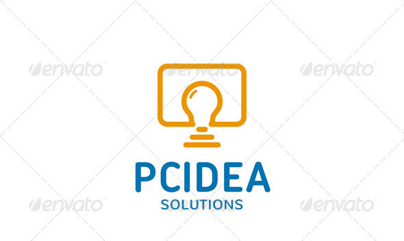 PC Idea Logo Template