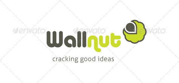 Wallnut | A cracking little creative logo!