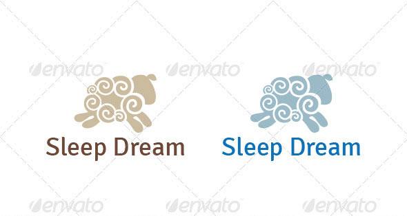 Sleep Dream Logo Template