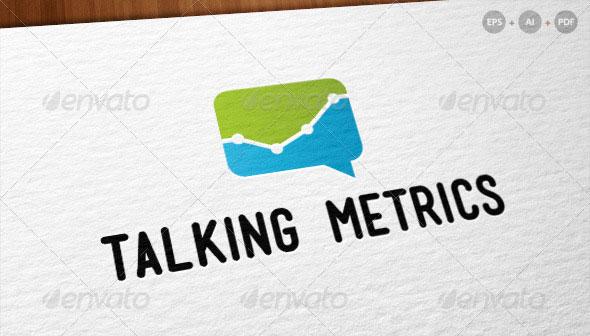 'Talking Metrics' - Internet Marketing Logo