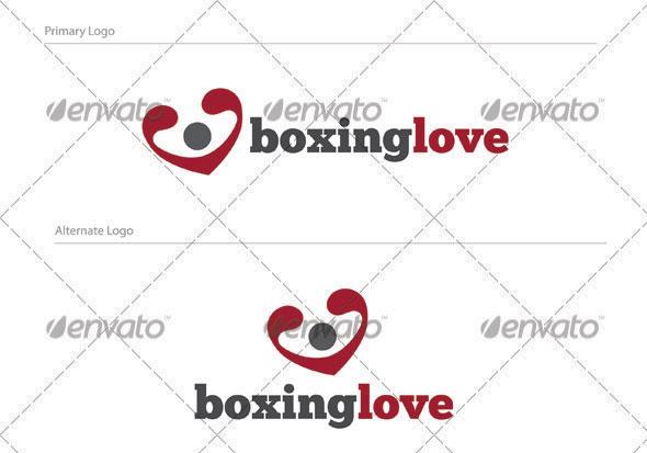 Boxinglove Logo Design - HUM-001