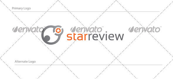 Starreview Logo Design - HUM-002