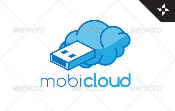 Mobi-Cloud Logo Design