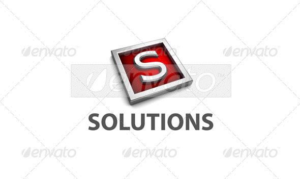 S Logo - 3D-549-S