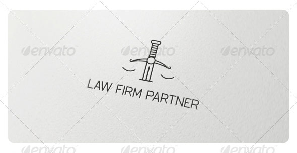 Law Firm Partner Logo Template