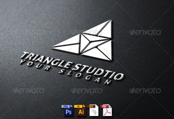 Triangle Studio Logo Template