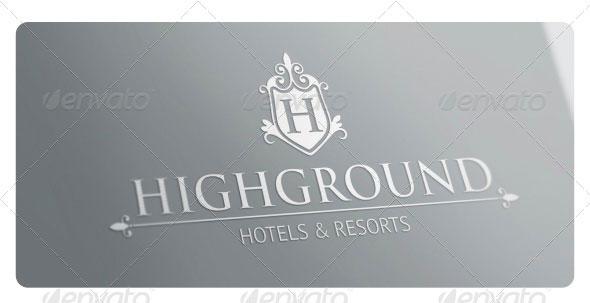 Highground Logo Template