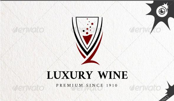 Luxury Wine Logo