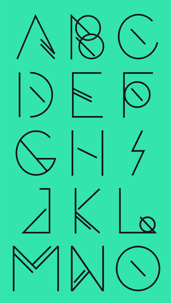 Foresee   Free typeface