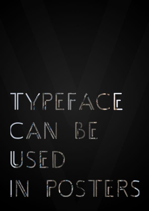 Typeface Adec (free)