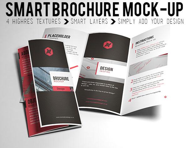 free brochure mock up