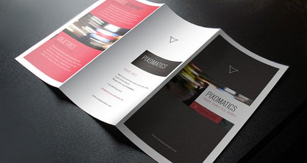 Corporate Tri Fold Brochure Template 2