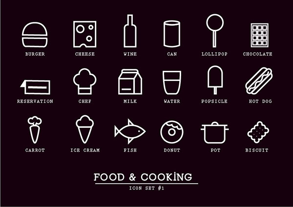 Free / Food & Cooking icons