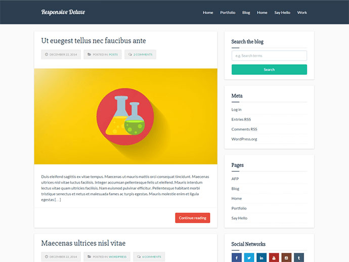 71 Free WordPress Themes For Creating Responsive Website71 Free WordPress Themes For Creating Responsive Website - Web & Graphic Design - Bashooka - 웹