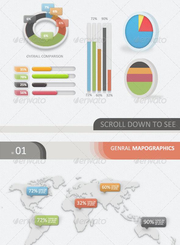 Infographic ui psd