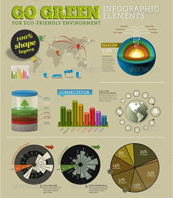42 ui kits to create persuasive infographic