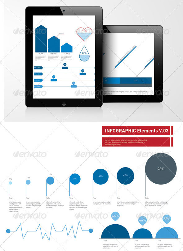 Infographic Elements Template Pack 03