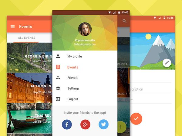 Travel Club app