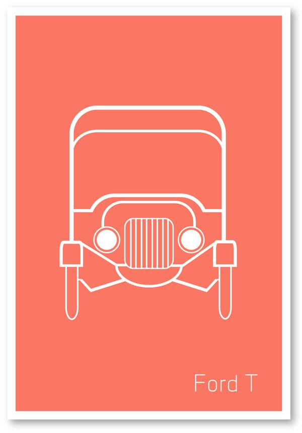 Ford Minimalist poster