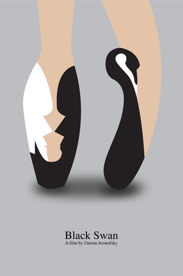Minimalist Movie Poster Black Swan