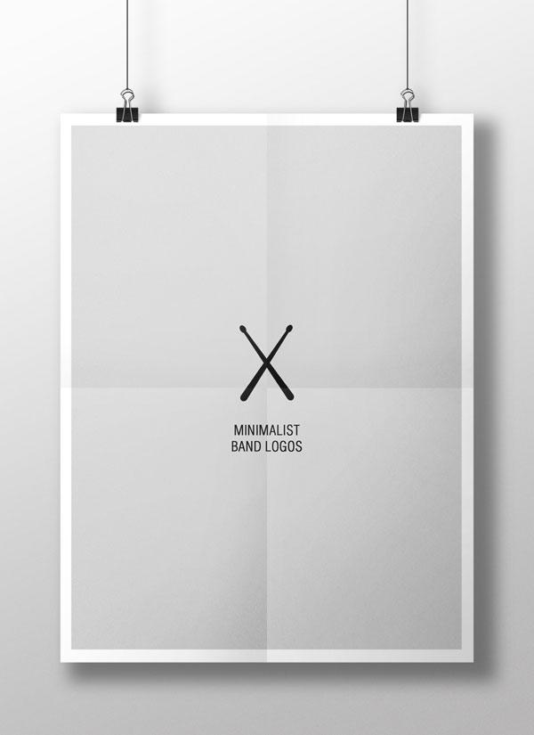 Minimalist Band Logos