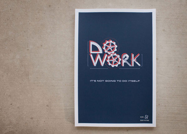 Do Work Poster
