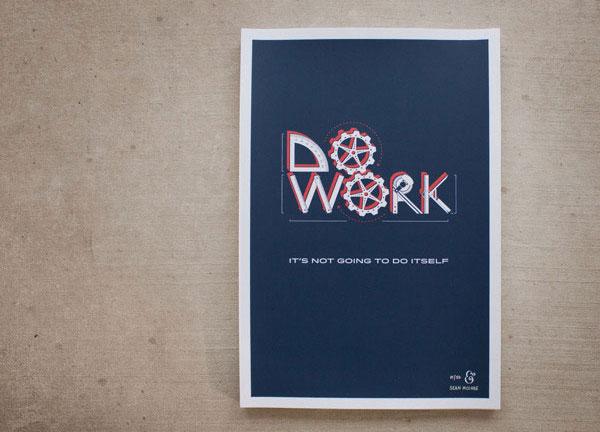 Do Work Poster