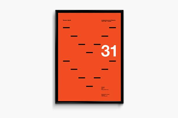 Massimo Vignelli | Poster Tribute