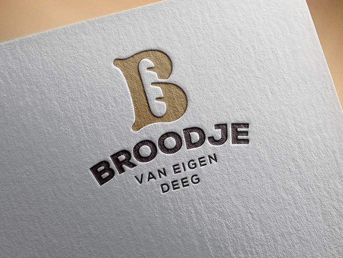 Bakery identity on print.